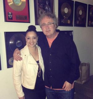 Emerging Pop Songstress KANISHA K Teams w/ Producer Jason Miles in NYC
