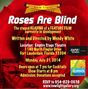 Empire Stage Theatre Presents Free Reading of ROSES ARE BLIND, 7/21