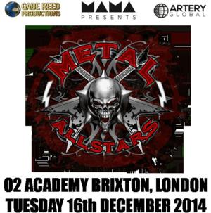 METAL ALL STARS Set for Special One-Off UK Concert, Dec 16