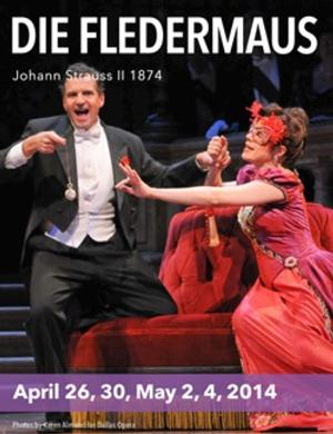 Lyric Opera of Kansas City Presents Johann Strauss' DIE FLEDERMAUS, 4/26-5/4