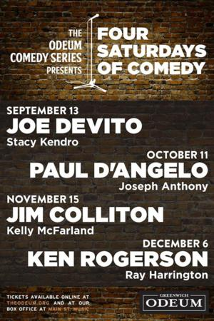 Odeum Comedy Series Kicks Off 9/13