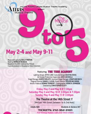 Amas's Rosetta Lenoire Musical Theatre Teen Academy to Present 9 TO 5, 5/2-11