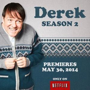Netflix to Launch Second Season of Ricky Gervais' Original Series DEREK, 5/30