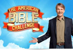 GSN to Air Special 2-Hour Premiere Event for Third Season of THE AMERICAN BIBLE CHALLENGE, 5/22