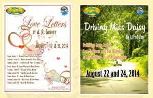 The Adobe Theater Stages Readings of LOVE LETTERS and DRIVING MISS DAISY, Beginning Tonight