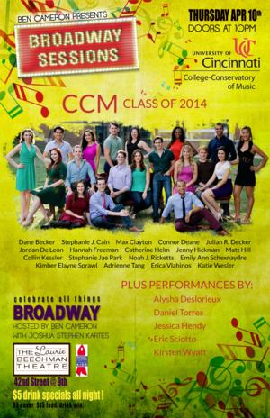 Broadway Sessions to Celebrate CCM, 4/10