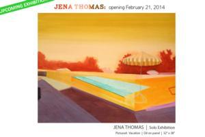 Jena Thomas Opens Solo Exhibition at Fernando Luis Alvarez Gallery Today