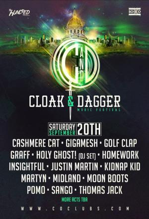 First Ever Cloak and Dagger Festival Set for Denver This September