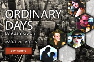 Penfold Theatre Presents Texas Premiere of ORDINARY DAYS, Now thru 4/6