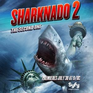Syfy Announces July Release Date for SHARKNADO 2: THE SECOND ONE