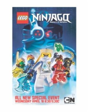 Cartoon Network to Air NINJAGO: Masters of Spinjitzu, 4/16