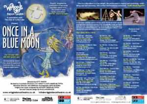 Wriggle Dance Theatre Presents National Tour of ONCE IN A BLUE MOON, 9/13-1/25