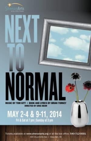ShenanArts Presents NEXT TO NORMAL, 5/2-4 & 9-11