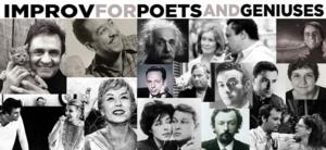 IMPROV FOR POETS AND GENIUSES Set for Standard Toykraft, Beg. 1/23