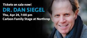 Dr. Dan Siegel to Speak at Northrop's Wellbeing Lecture Series, 4/24