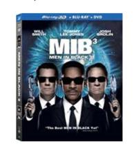 MEN IN BLACK 3 Due on 3D Blu-ray, Blu-ray & DVD Today