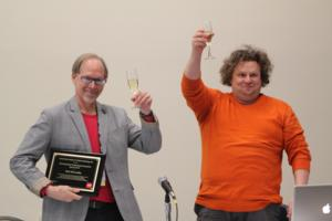 Bob McCarthy Receives USITT Distinguished Achievement in Sound Award