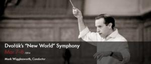 Utah Symphony to Present Dvorak's NEW WORLD SYMPHONY, Led by Guest Conductor Mark Wigglesworth, 3/7-8