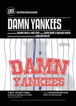 Imperial Productions Stages Fringe Premiere of DAMN YANKEES, Now thru April 12