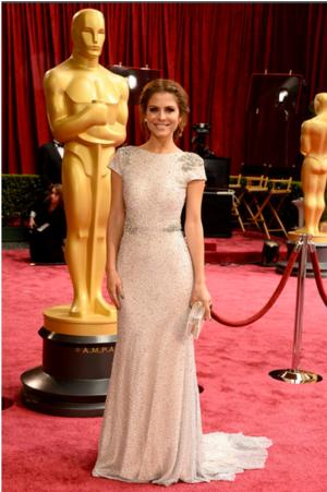 Maria Menounos Accessorized with Ashlyn'd Clutch at Oscars