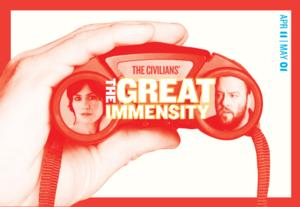 The Civilians' THE GREAT IMMENSITY Begins Performances 4/11 at Public Theater