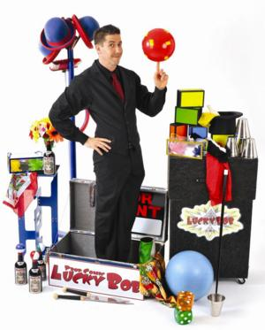 LuckyBob Comes to Ocean State Theatre Today