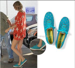 Keds Teams Up with Taylor Swift's Red Tour