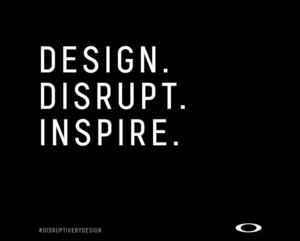 Oakley Summons the Future with New Disruptive by Design