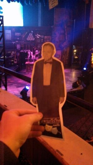 State Theatre Reveals Flat Freddy Photo Promotion