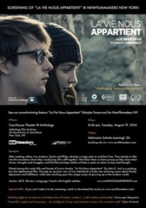 NewFilmmakers NY to Screen LA VIE NOUS APPARTIENT and More, 8/19