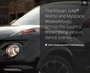 "Myspace and Nissan ""Make Moves"" Dance Contest Now Open for Submissions"