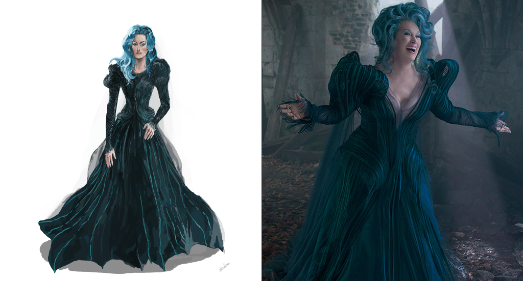 Brand New INTO THE WOODS Production Photos amp Costume Sketches