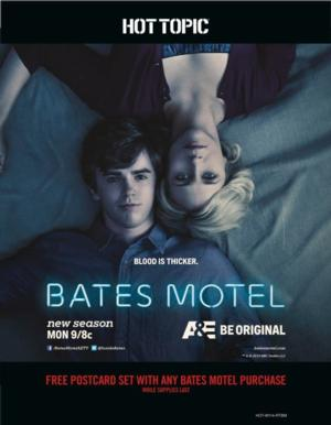 BATES MOTEL Clothing Line Coming to Hot Topic