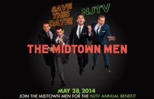 THE MIDTOWN MEN to Perform at NJTV Benefit Television Special, 5/28