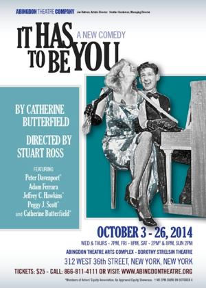 Adam Ferrara and Peggy J. Scott Join IT HAS TO BE YOU at Abingdon This Fall
