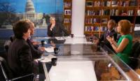 Carl Levin Visits NBC's MEET THE PRESS WITH DAVID GREGORY