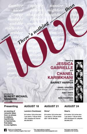 Jessica Gabrielle Hayoun and More Set for THERE'S NOTHING ROUGHER THAN LOVE, 8/18-24