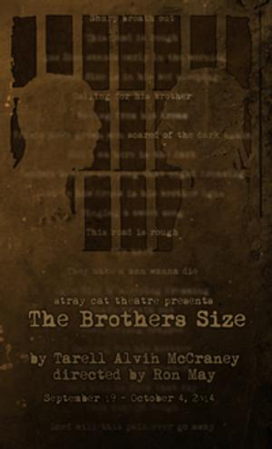 Stray Cat Theatre to Open 13th Season with THE BROTHERS SIZE, 9/19-10/4