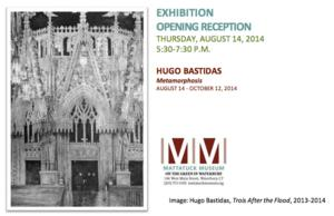 HUGO BASTIDAS: METAMORPHOSIS Exhibition to Open 8/14 at the Mattatuck Museum