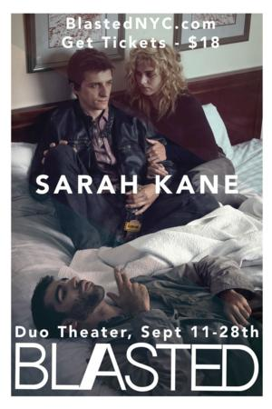 Cryptic Fascination Theater Presents Sarah Kane's BLASTED, Now thru 9/28