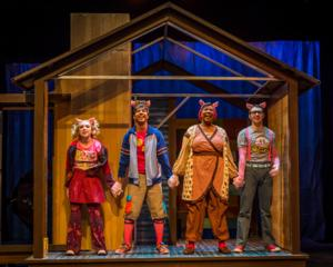 BWW Reviews: THREE LITTLE PIGS Entertains the Kids But Leaves Adults Wanting More