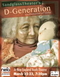 Sandglass Theater's D-GENERATION: AN EXALTATION OF LARKS Plays New England Youth Theatre, 3/22-23