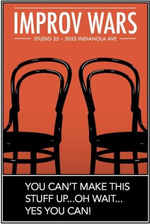 IMPROV WARS: ONE NIGHT STAND Comes to Studio 35 in Columbus, 8/19