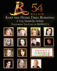 REBECCA Cast to Take Part in Holiday Concert at 54 Below, 12/3