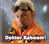 DOKTOR KABOOM! Comes to Widbey Island Center for the Arts Tonight, 11/9