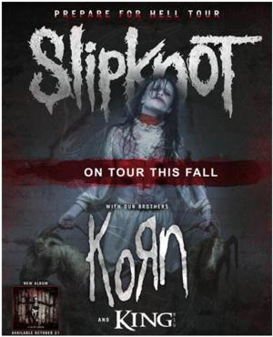 KORN to Join Slipknot on Tour this Fall