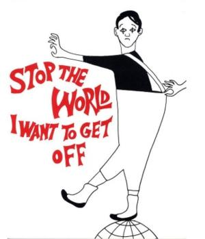 Clarksville Little Theatre Presents STOP THE WORLD - I WANT TO GET OFF, 5/9-17