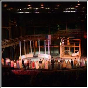 A. LINCOLN: A PIONEER TALE Set for Lincoln Amphitheatre, Summer 2014