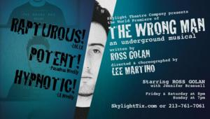 Skylight Theatre's THE WRONG MAN Extends Through 3/30