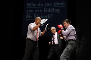 BWW Reviews: RUPERT Makes U.S. Premiere at the Kennedy Center - Hold the Presses!